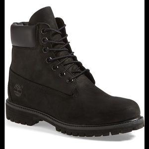Timberland Waterproof Black suede boot